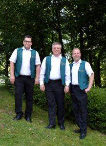 v.l.n.r.: Marco Altevogt, Andreas Pohlmann, Oliver Meyer