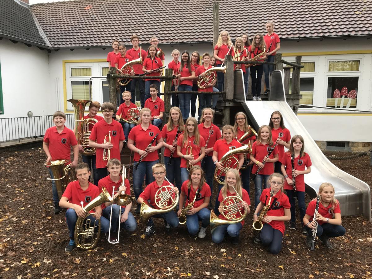 Miniorchester Borgloh 2017