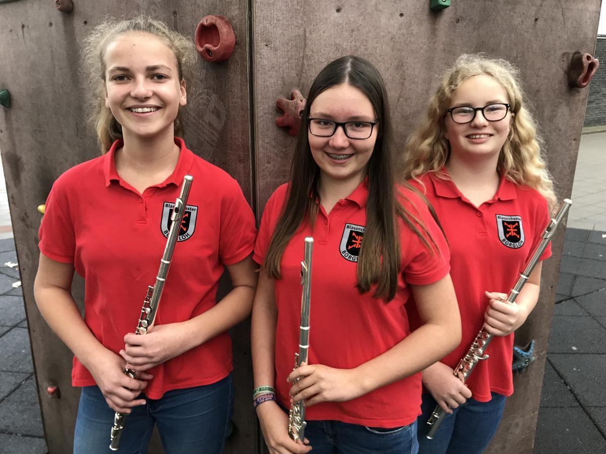 Flöte: Henriette, Janneke, Hannah